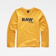 G-star RAW Garçons T-Shirt Jaune
