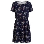 Vero Moda Femeile rochie VMAUTUMN Amaze S / S grad de compatibilitate rochie scurta LCS Night Sky de Night Sky S