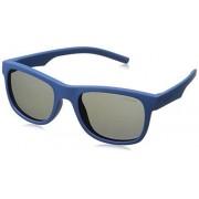 Polaroid Kids 8020/S Gafas de Sol Unisex para Niños, color Azul