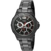 Timex Black9532 Timex Men's TW2P87700 Taft Street Multifunction Black Stainless Steel Bracelet Watch Watch - For Men