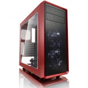 Carcasa Fractal Design Focus G Red Window, Middle Tower, fara sursa, Rosu
