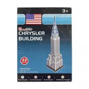 Asian Hobby Crafts Mini 3D Puzzle World's Greatest Architecture Series - Chrysler Building