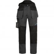 Portwest WX3 stretch werkbroek met holsterzakken en gratis kniestukken 58 grijs/zwart*