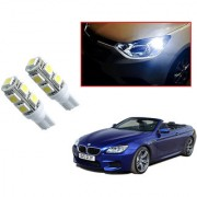 Auto Addict Car T10 9 SMD Headlight LED Bulb for Headlights Parking Light Number Plate Light Indicator Light For BMW 6 Series