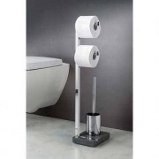 Blomus Toilettenbutler WC-Butler Menoto, Edelstahl poliert, Polystone