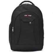 LeeRooy Canvas 23 Ltr Black School Bag Backpack For Unisex