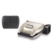 Gaufrier premium réversible 2 gaufres personnalisables 1200 W 019152 Lagrange