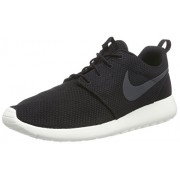 Nike Men's Nike Roshe One Black and Anthrax Running Shoes - 10 UK/India (45 EU)(11 US)