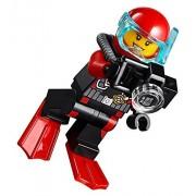 LEGO City MiniFigure: Deep Sea Explorers - Female Scuba Diver (w/ Camera)