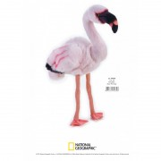Jucarie Plus Venturelli National Geographic Flamingo 45 Cm