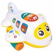 Avion interactiv cu sunete si lumini Hola toys - limba engleza