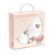 Jellycat Amuseable Watermelon Pair Of Muslins - 70cm