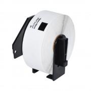 PAPER, Makki Brother DK-11201, Roll Standard Address Labels, 29x90mm, 400 labels per roll, Black on White (MK-DK-11201)