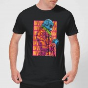 Universal Monsters Camiseta Universal Monsters El hombre invisible Retro - Hombre - Negro - XXL - Negro