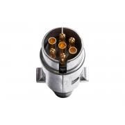 Prise de remorque métallique 7-broches 12V