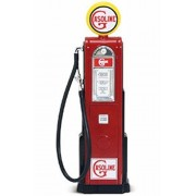 Digital Gas Pump Gasoline, Red - Yatming 98621 - 1/18 scale diecast model