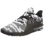 Nike Air MAX Sequent 3_AR0251-001 Zapatillas para Hombre, Black/White, 11