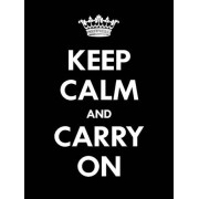 Itas design Keep calm - Svart 13