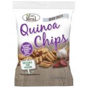 Eat Real Quinoa Chips Paradicsom Sült Fokhagyma 30 g