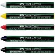 Creion cerat 2253 suprafete lucioase Rosu Faber-Castell