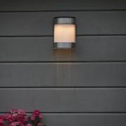 QAZQA Applique BOSTON a LED solare alluminio IP44