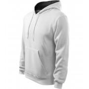 ADLER Hooded Sweater Pánská mikina 40500 bílá XL