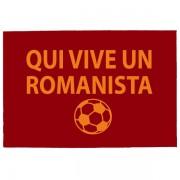 Tréfás Lábtörlő / Olasz foci AS Roma szurkoló