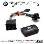 COMMANDE VOLANT BMW X5 2000-2006 (E53) OEM - Pour CLARION complet avec interface specifique