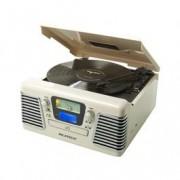 Ricatech platenspeler RMC100 5 IN 1 MUSIC (wit)