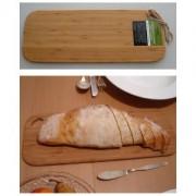 Prkénko na krájení potravin - vyrobeno z bambusu, 410mm x155mm x10mm