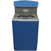 Dream Care Blue Colour with Square Design Washing Machine Cover for Fully Automatic Top Loading IFB TL-SDG 7.0KG AQUA 7 KG