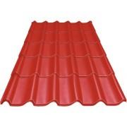 Tigla metalica Precit Roof 1790x1170x0,4 mm rosie