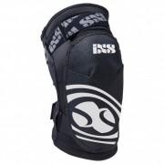 iXS Hack Series Knee Guard Protezione (XS, nero/grigio)