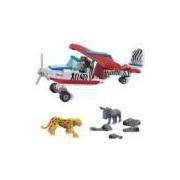Brinquedo Safari Avião 143 Peças 6660 - Banbao