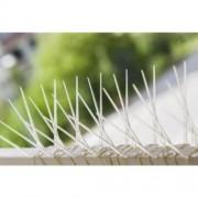 Țepi din policarbonat împotriva păsărilor - 50 metri