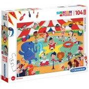 Puzzle Maxi La Circ Clementoni 104 piese