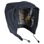Barbour Lifestyle Waxed Cotton Hood Navy