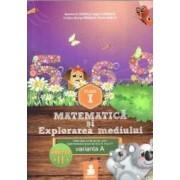 Matematica si explorarea mediului - Clasa 1 - Partea A II-A - Varianta A - Ed.2015 - Dumitru D. Paraiala