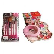 Diwali Gift Combo 4 Her Makeup kit + Makeup Brush Kit