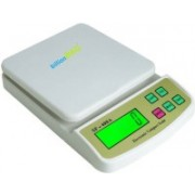 Billionbag Durable Ultra Light 10 kg Digital Multi-Purpose Kitchen Weighing Scale(Off-White)