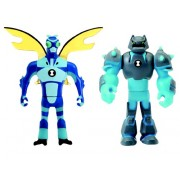 Ben 10 Mini Figurine Mix & Match (2 BUC) - Stinkfly & Shock Rock