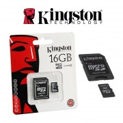 Micro SD Kingston 16 GB Original Celulares Camaras Tablets