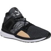 Puma B.O.G Limitless Hi evoKNIT Running Shoes For Men(Black)