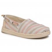 Обувки TOMS - Bimini 10015303 Salmon Woven Stripe/Sythetic Trim