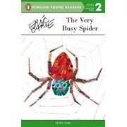 The Very Busy Spider, Paperback/Eric Carle