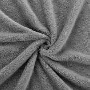 [neu.haus]® Manta - Colcha - Funda de cama - microfibra, felpa - 280g/m² - Gris oscuro - 210x280 cm