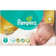 Scutece Pampers Premium Care 1 New Baby Jumbo Pack (108)
