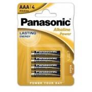 Panasonic Alkaline Power LR03 / AAA - blister 4 bucati