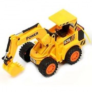 Monster Wireless R/C JCB truck (Yellow)