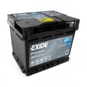 EXIDE Premium EA472 47Ah 450A autó akkumulátor jobb+